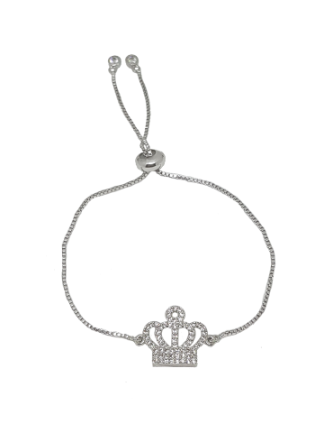 PULSERA QUEEN SHINE PLATA