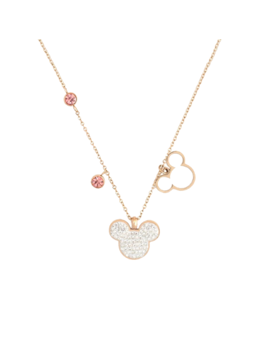 COLLAR MINNIE ORO ROSA