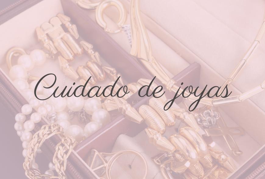 Cuidado de joyas